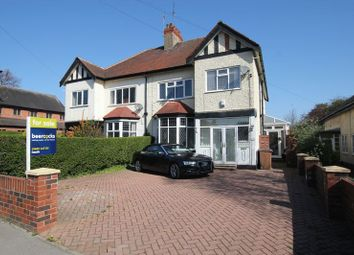 Thumbnail 4 bed semi-detached house for sale in Swanland Road, Hessle