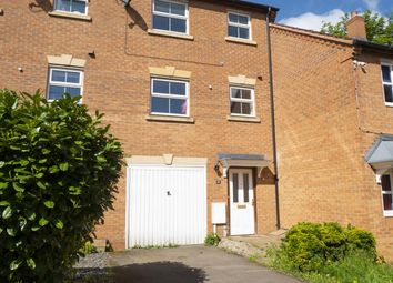 Thumbnail 4 bed terraced house for sale in Bellway Close, Kettering, Northants
