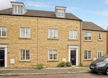 Thumbnail 4 bed terraced house for sale in Bevington Way, Eynesbury, St. Neots