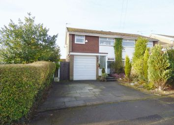 Thumbnail 3 bed semi-detached house for sale in Whitethorn Avenue, Great Sankey, Warrington