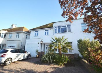 Thumbnail 4 bed semi-detached house for sale in Nutley Drive, Goring By Sea, West Sussex