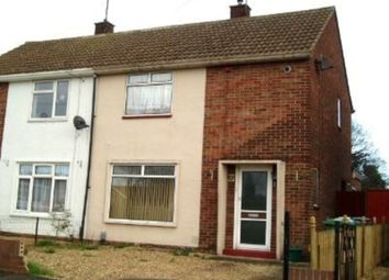 Thumbnail 2 bed semi-detached house to rent in Hastings Road, Walton, Peterborough