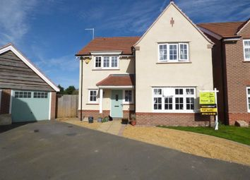 Thumbnail 4 bed detached house for sale in Moss Close, Doxey, Stafford