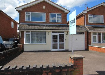 Thumbnail 3 bed detached house for sale in Penfold Drive, Countesthorpe, Leicester