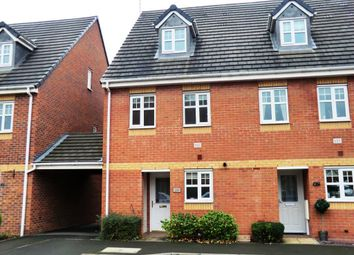 Thumbnail 3 bed property to rent in Black Eagle Court, Burton-On-Trent