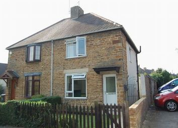 Thumbnail 2 bedroom semi-detached house for sale in High Street, Weston Favell, Northampton