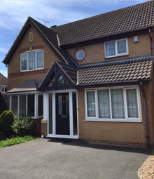 Thumbnail 4 bed detached house to rent in Templebell Close Littleover, Derby