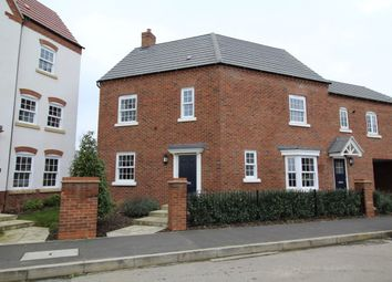 Thumbnail 3 bed property for sale in Carding Way, Kempston, Bedford