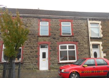 Thumbnail 3 bed terraced house to rent in Caerau Road, Maesteg, Bridgend.