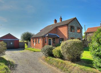 Thumbnail 4 bed detached house for sale in The Street, Knapton, North Walsham
