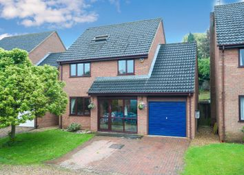 Thumbnail 5 bed detached house for sale in Glebe Way, Cogenhoe, Northampton