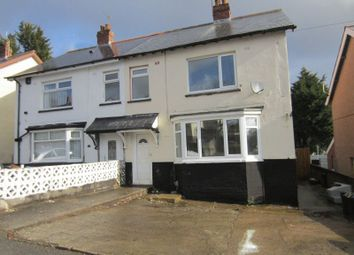 Thumbnail 3 bedroom semi-detached house to rent in Crossways Road, Cardiff