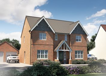 "Thumbnail 4 bedroom detached house for sale in ""The Thornsett"" at Winchester Road, Fair Oak, Eastleigh"