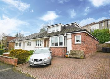 Thumbnail 4 bed semi-detached bungalow for sale in Nethervale Avenue, Glasgow