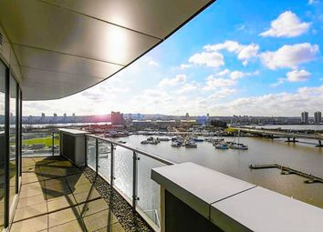 Thumbnail 3 bed flat for sale in Albert Basin Way, London