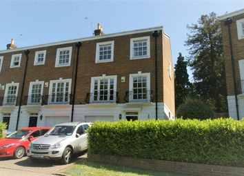 Thumbnail 4 bed end terrace house to rent in Grosvenor Place, Vale Road, Weybridge, Surrey