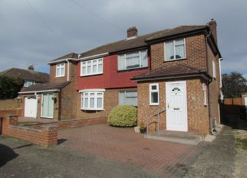 Thumbnail 3 bed semi-detached house for sale in Bullwell Crescent, Cheshunt