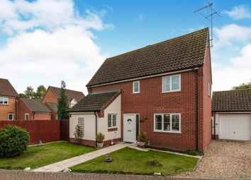 Thumbnail 2 bed detached house for sale in Montagu Drive, Weeting, Brandon