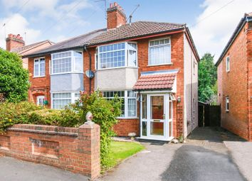 Thumbnail 3 bed semi-detached house for sale in Wheatfield Road, Bilton, Rugby