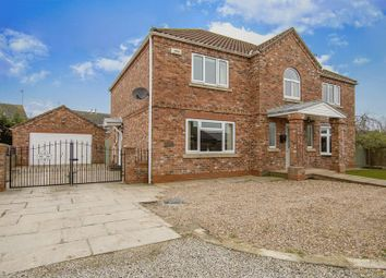 Thumbnail 4 bed detached house for sale in Hailgate, Howden, Goole