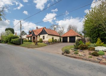 Thumbnail 3 bed detached house for sale in Wickham Road, Finningham, Stowmarket