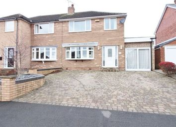 Thumbnail 3 bed semi-detached house for sale in Elm Tree Close, North Anston, Sheffield