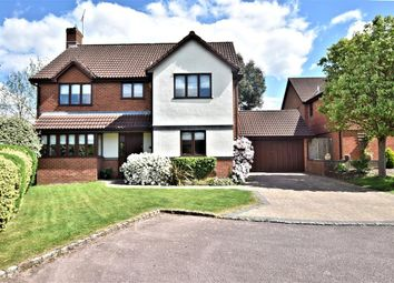 Thumbnail 4 bed detached house for sale in Woodward Close, Winnersh, Wokingham