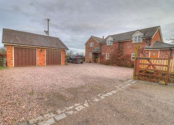 Thumbnail 3 bed detached house for sale in Eyton, Wrexham
