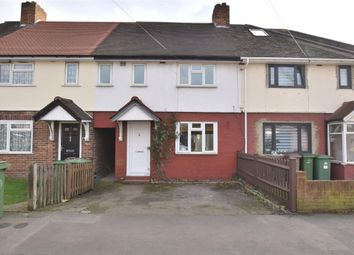 Thumbnail 3 bed terraced house for sale in Fellowes Road, Carshalton, Surrey
