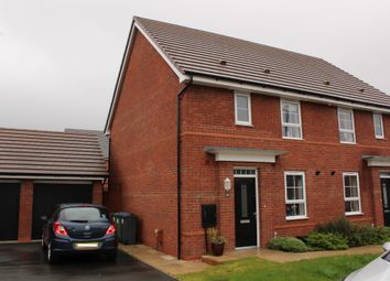 Thumbnail 3 bed semi-detached house for sale in William Barrows Way, Tipton