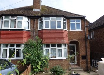 Thumbnail 3 bed semi-detached house to rent in Brambletye Park Road, Redhill