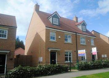 Thumbnail 4 bed town house for sale in The Meadows, Wynyard, Billingham