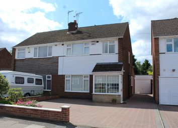 Thumbnail 3 bedroom semi-detached house for sale in Babbacombe Road, Styvechale, Coventry