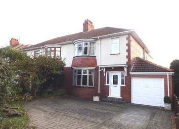 Thumbnail 4 bed semi-detached house for sale in Coniscliffe Road, Darlington, County Durham