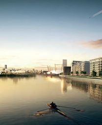 Thumbnail 2 bed flat for sale in Docklands, London