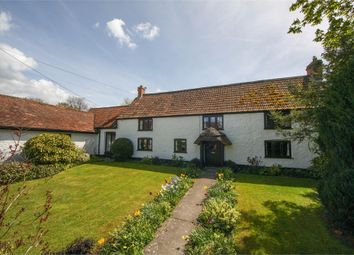 Thumbnail 6 bed detached house for sale in Burnt House Farm, West Stoughton, Wedmore, Somerset
