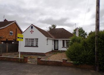 Thumbnail 2 bed bungalow for sale in Eastway Road, Wigston, Leicester, Leicestershire
