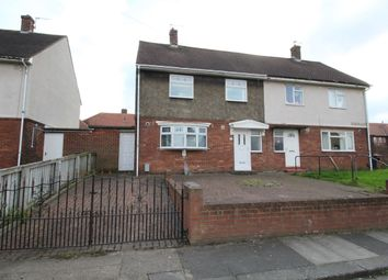 Thumbnail 3 bed semi-detached house for sale in Swindon Square, Springwell, Sunderland