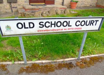 Thumbnail 1 bed flat to rent in Old School Court, Heage, Belper