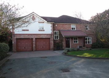 Thumbnail 4 bed detached house to rent in Croft Road, Wilmslow
