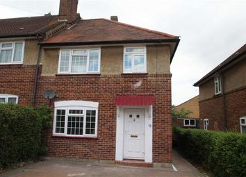 Thumbnail 3 bed end terrace house to rent in Lawrence Road, Hayes, Middx