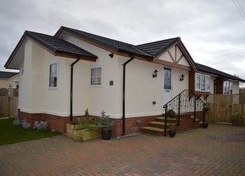 Thumbnail 2 bed mobile/park home for sale in Warren Park, Stoke Heath