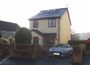 Thumbnail 3 bed detached house for sale in Elm Street, Rhydyfelin, Pontypridd