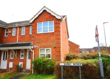 Thumbnail 3 bedroom end terrace house for sale in Barbel Avenue, Basingstoke, Hampshire