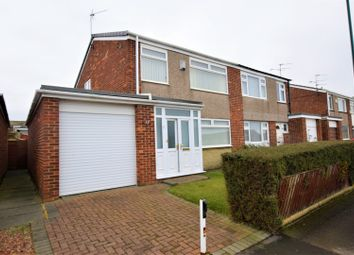 Thumbnail 3 bed semi-detached house for sale in Loraine Close, Redcar