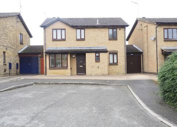 Thumbnail 3 bed detached house for sale in Weldon Close, Wellingborough