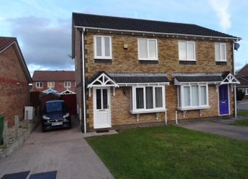 Thumbnail 3 bed semi-detached house to rent in Clos Pinwydden, Llanharry, Pontyclun
