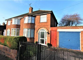 Thumbnail 3 bed semi-detached house for sale in Crowhurst Drive, Braunstone, Leicester