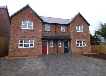 Thumbnail 3 bed semi-detached house for sale in Plot 21 (Semi Detached House), Thornedge Development, Station Road, Cumwhinton