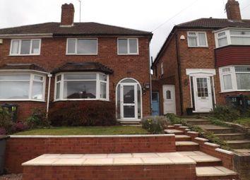 Thumbnail 3 bed semi-detached house for sale in Hansom Road, Quinton, Birmingham, West Midlands